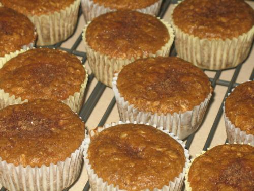 Cinnamon Oat Muffins