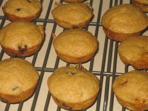 Maple Pancake Mini Muffins