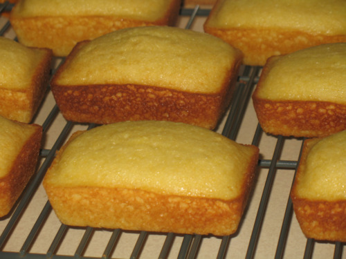Mini Lemon Loaves