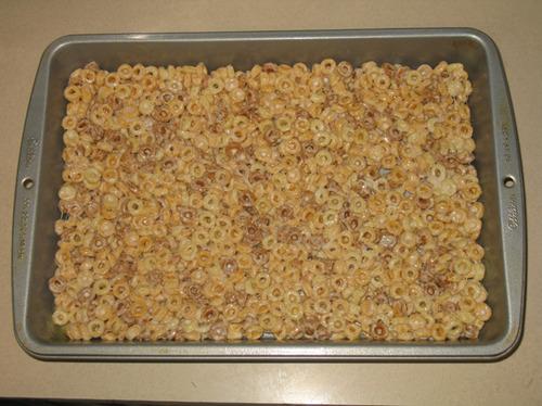 Peanut Butter Cheerios Treats