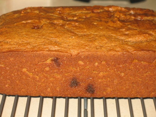 Healthy Pumpkin Bread With Cinnamon Chips