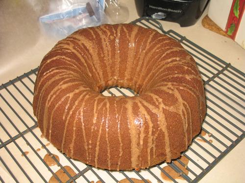 Spice Bundt Cake With Cinnamon Glaze