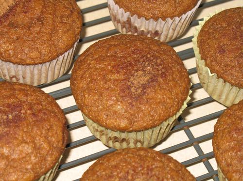 Cinnamon Swirl Pumpkin Muffins