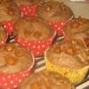 Flax Banana Yogurt Muffins