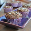 Cinnamon Honey Oat Muffins