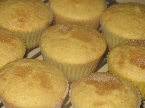 Lemon Tea Muffins