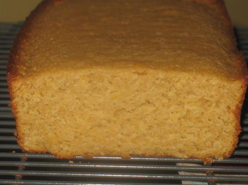 Meyer Lemon Tea Bread