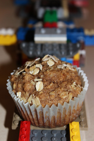 Wholesome Oat Muffins