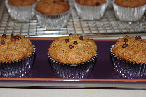 Peanut Butter Bran Muffins
