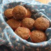 Blood Orange Wheat Germ Muffins