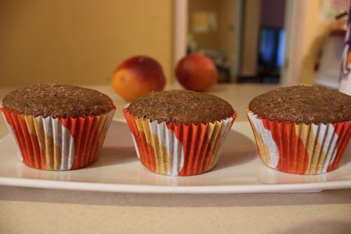 Blood Orange Wheat Germ Muffins