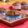Cocoa Banana Yogurt Muffins