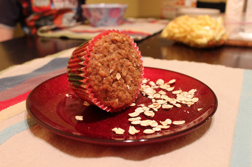 golden-oatmeal-spice-muffins