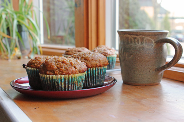 Pumpkin Muffins made over