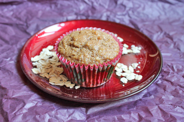 Golden Oatmeal Spice Muffins