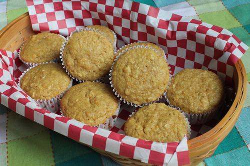 Orange Oat Muffins