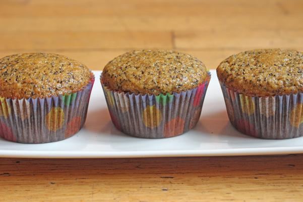 Peach Poppy Seed Muffins