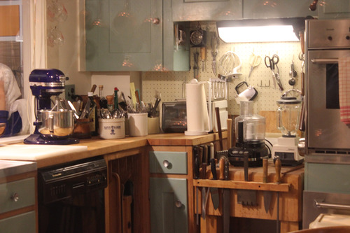 Julia Childs Kitchen in Washington DC