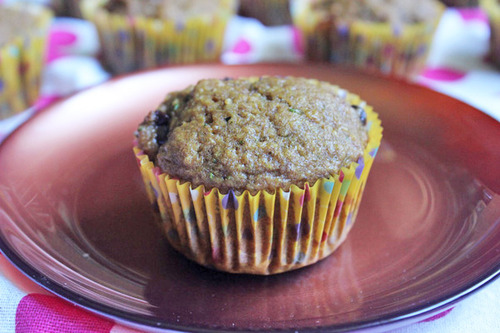 Zucchini Chocolate Chip Muffins