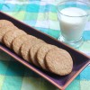 Maple Snickerdoodles with milk