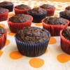 Healthy Zucchini Chocolate Muffins