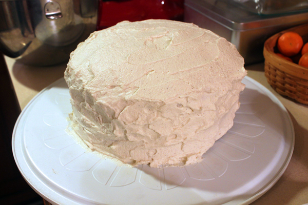 Root Beer Layer Cake with Cream Soda Frosting