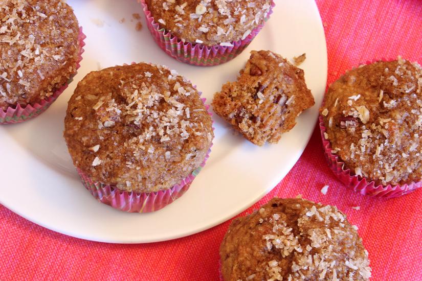 Vanilla Crunch Muffins