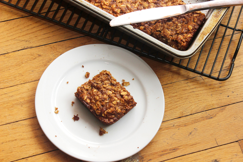 chewy oatmeal yogurt bars