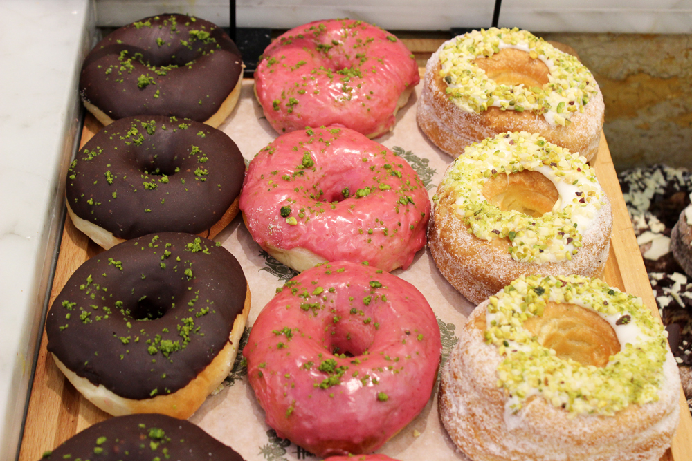 doughnuts at Harrod's food hall