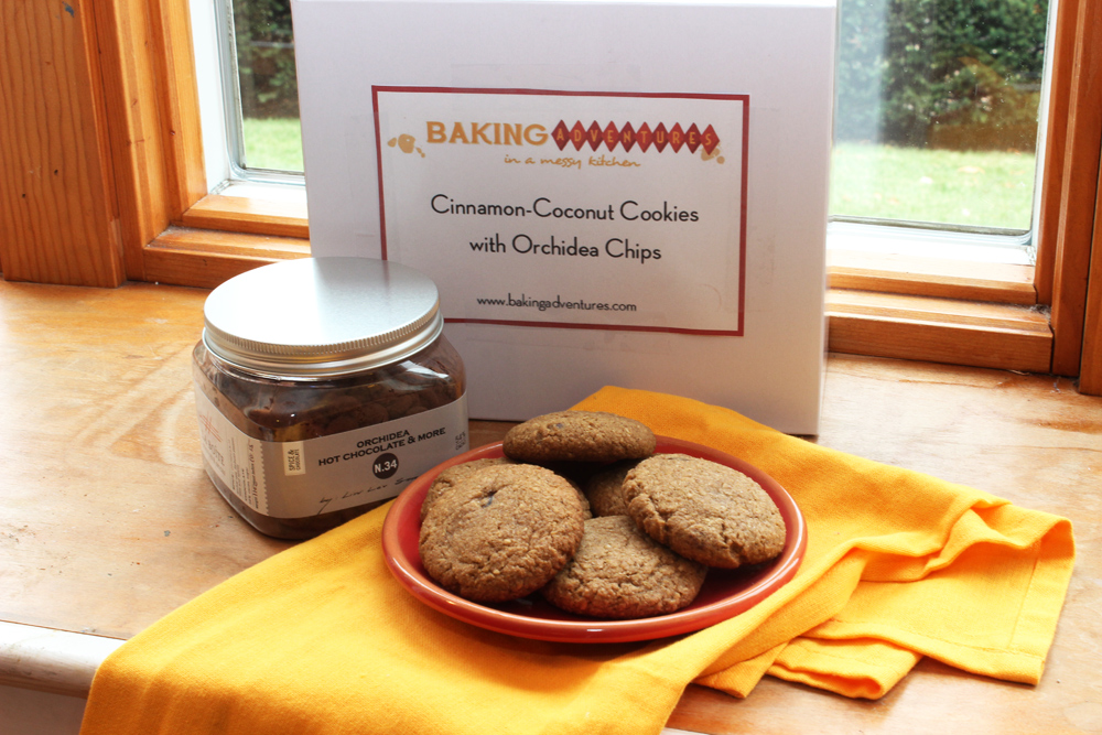 Cinnamon-Coconut Cookies with Orchidea Chips