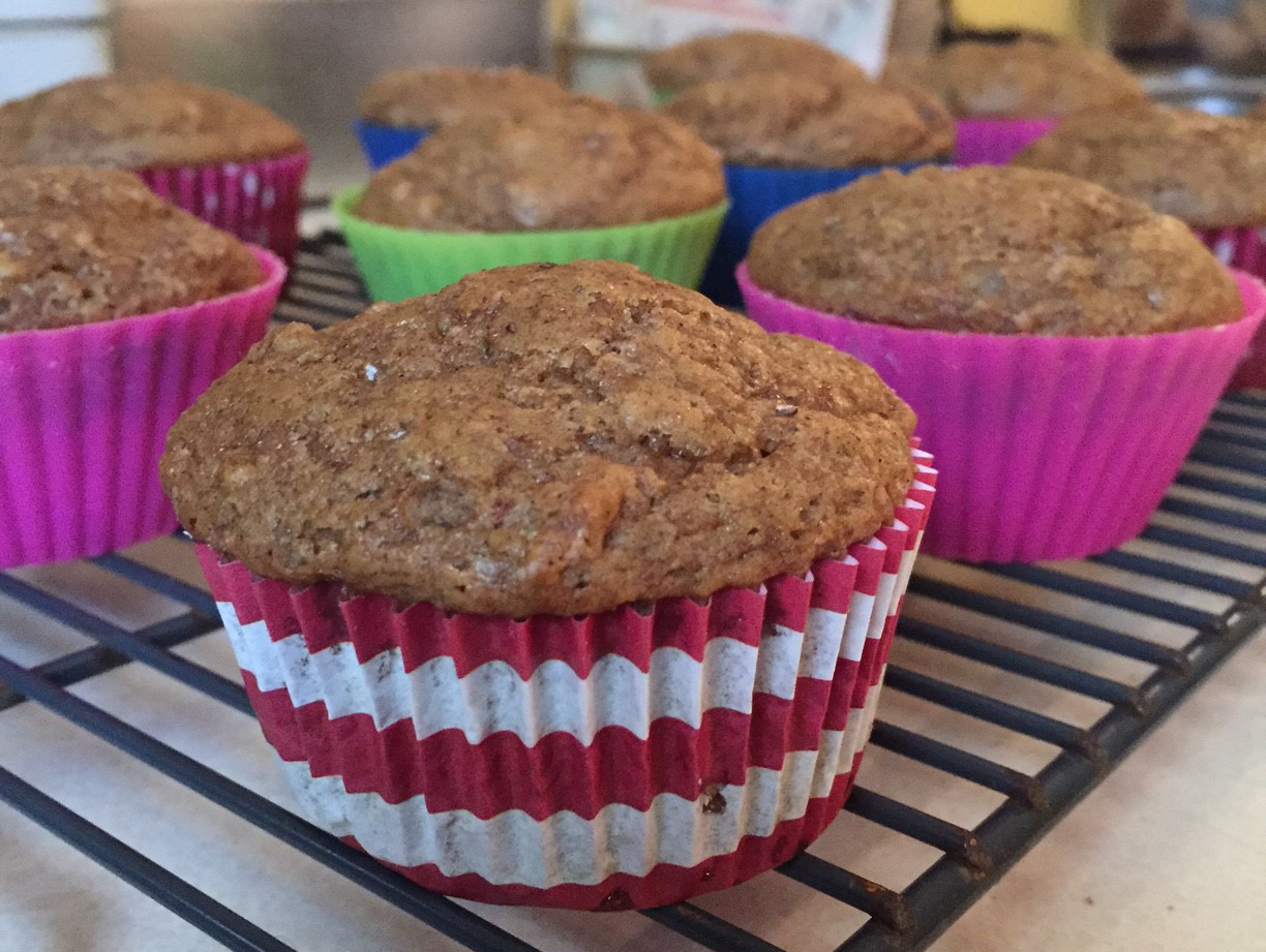 Banana Yogurt Muffins