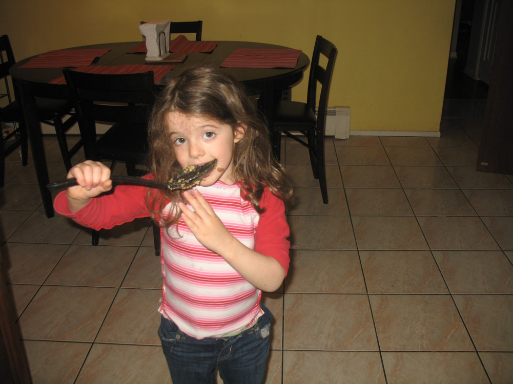 Juliet with spoon