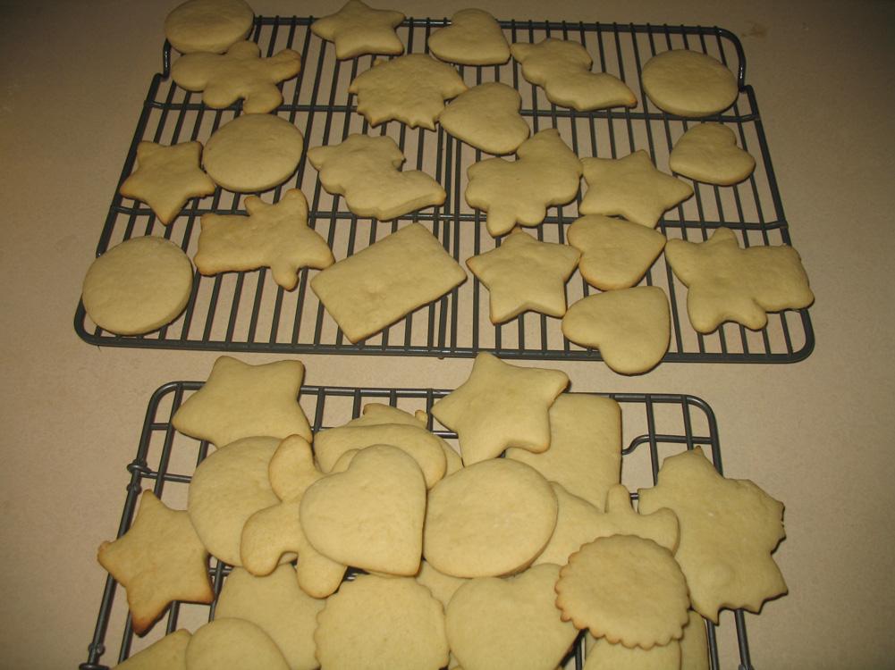 cookie piles