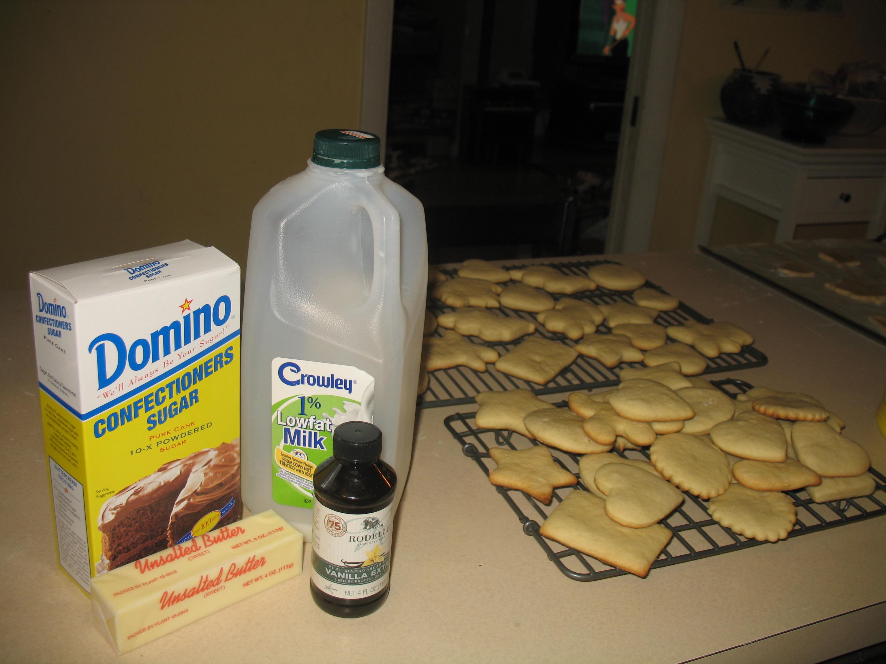 frosting ingredients