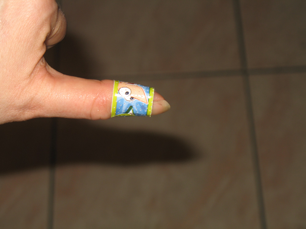 Phineas & Ferb band-aid