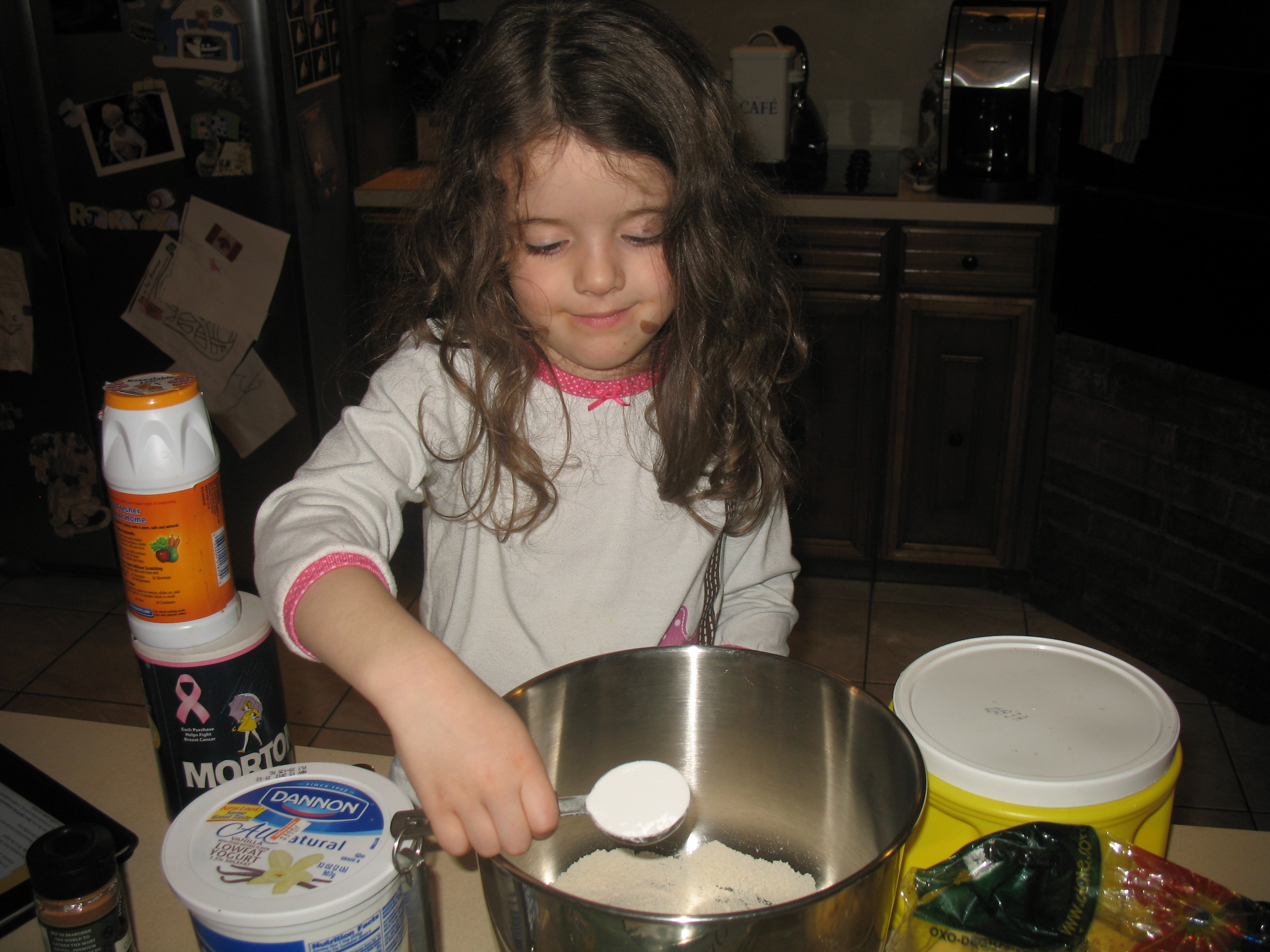 Juliet with baking powder
