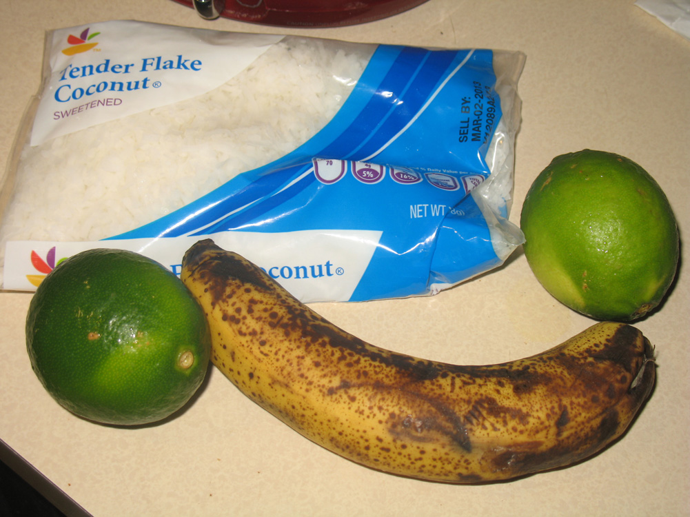 lime coconut banana