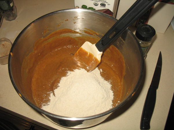 more flour