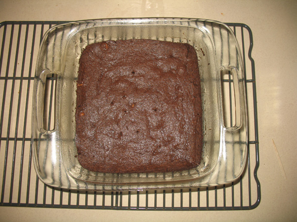 brownies, done