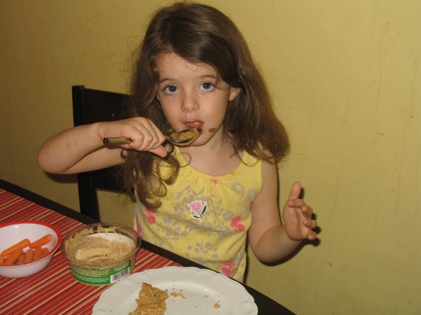 Juliet tasting