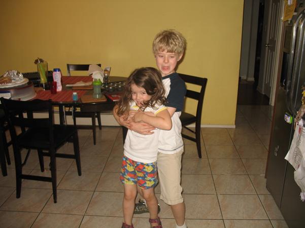Nathaniel stealing Juliet