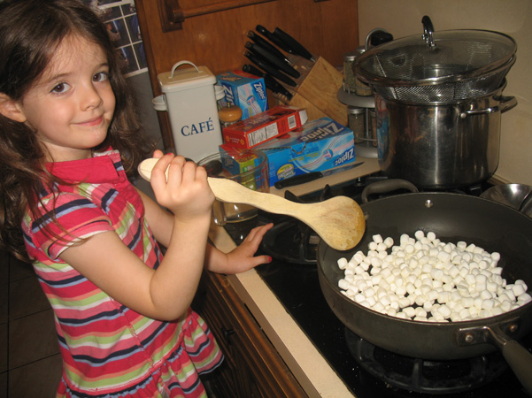 Juliet stirring