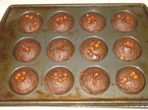 muffins in tin