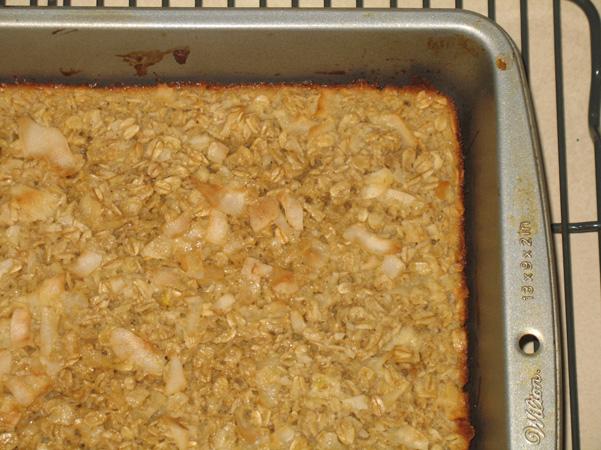baked oatmeal corner