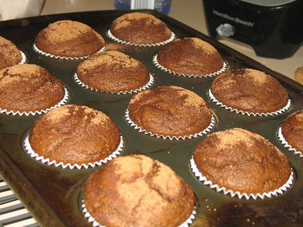 Pumpkin Spice Latte Muffins - Baking Adventures In A Messy ...