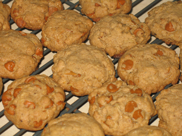 My version of Cinnamon Chip Maple Oatmeal Cookies (adapted from Tutti ...
