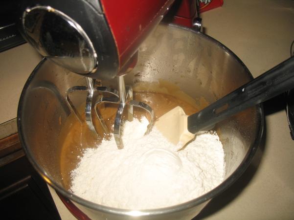 added flour