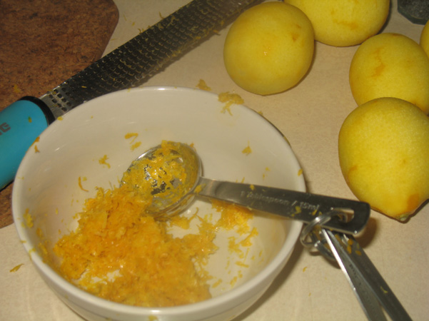 Meyer lemon zest