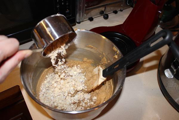 adding oats