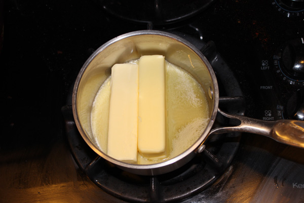 butter melting